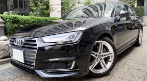 Audi A4アバント2.0TFSIスポーツSラインPKG 2018年式